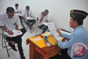 Siswa SMA Filial Lapas Palembang ikuti USBN