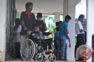 Dinas Sosial Sumsel latih keterampilan penyandang cacat