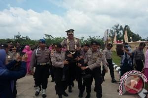 Kapolres Ogan Komering Ulu dipimpin wanita