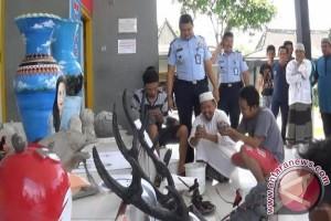 Rutan Baturaja bina narapidana membentuk group marawis