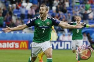 Irlandia Utara menang 2-0 atas Norwegia