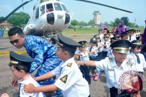 Edukasi Kedirgantaraan Lanud SMH Palembang
