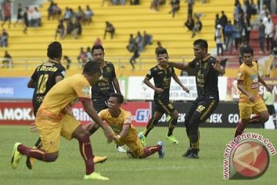 Sriwijaya ungguli Borneo 1-0 pada babak pertama