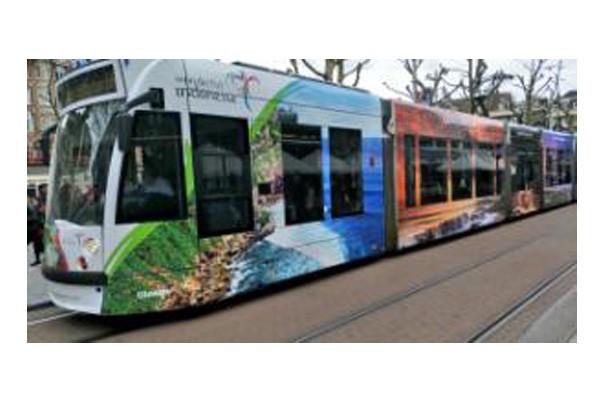 Wonderful Indonesia hiasi Trem di Amsterdam