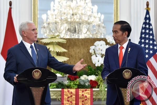 Presiden Jokowi sambut komitmen AS kuatkan Kemitraan