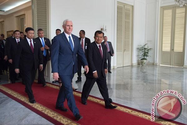 Wapres Kalla-Pence bahas lima sektor bilateral strategis