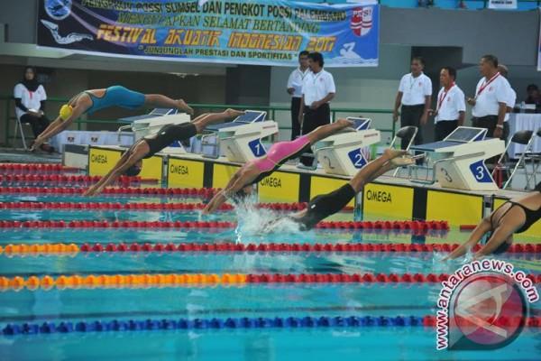 731 Atlet ikuti festival akuatik Indonesia 2017