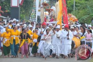 Upacara Melasti di Palembang