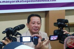 Masyarakat sepeda Indonesia perjuangkan Perda jalur sepeda