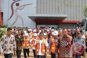 JK: Pembangunan arena Asian Games sesuai rencana