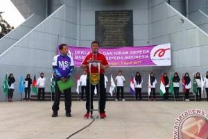 Ribuan penggemar sepeda Palembang deklarasikan MSI