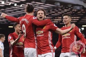 Rashford cetak gol kemenangan saat United singkirkan Anderlecht