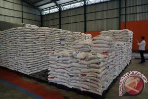 Cadangan Beras Bencana Berada di Kabupaten