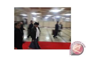 Presiden tunaikan subuh berjamaah di Bandung