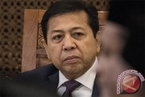 Novanto akan konsultasi dengan Jokowi sebagai Capres
