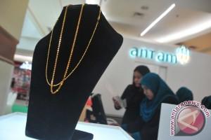 Harga perhiasan emas di Palembang naik