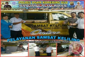 Polres OKU sediakan mobil Samsat keliling