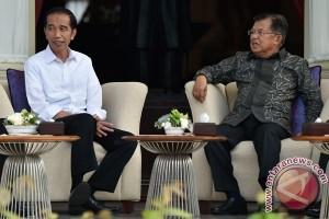 Jokowi kunjungi Wapres JK untuk makan siang