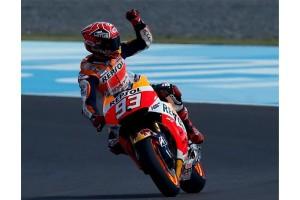 Marquez menangi Grand Prix Belanda