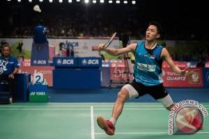 Tunggal putra Indonesia terhenti Malaysia Masters