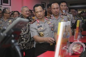 Kapolri resmikan layanan online Polisi Wong Kito