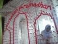 Dekorasi Masjid dari Botol Bekas