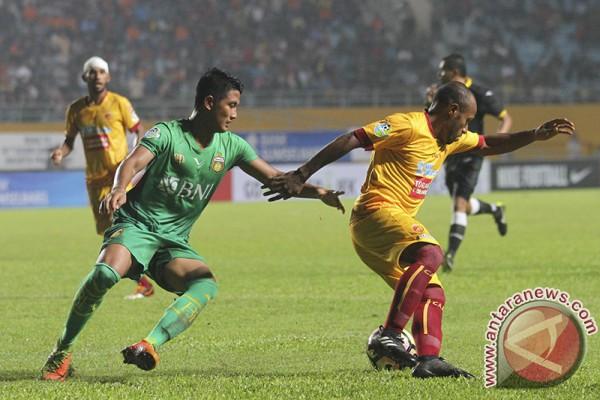 Sriwijaya FC dikalahkan Bhayangkara FC 1-2