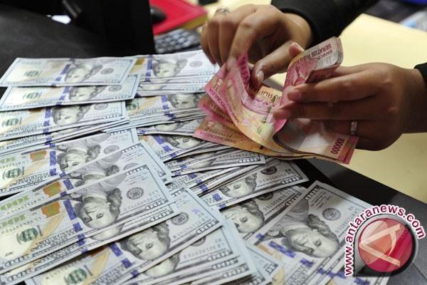 Nilai tukar dolar AS turun