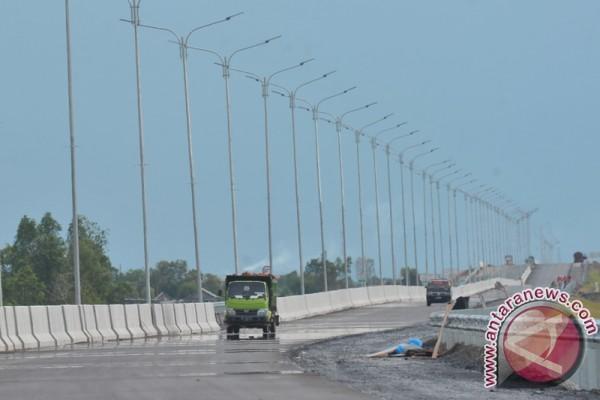 Kekuatan jalan Bangka Tengah untuk enam ton