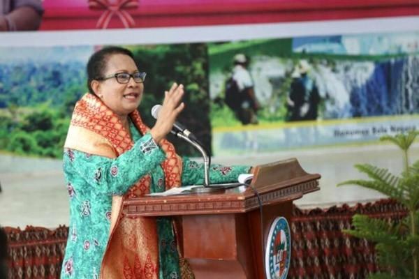 Yohana Menteri perempuan Indonesia pertama kunjungi Afghanistan