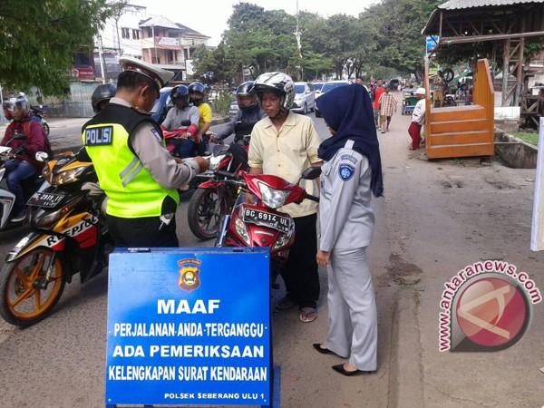 UPTB Palembang II razia bersama tertibkan wajib pajak
