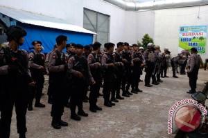 Pascarusuh kepolisian siagakan 314 personel di lapas