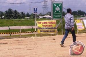 Pemilik lahan Arena Dayung Jakabaring minta proyek dihentikan