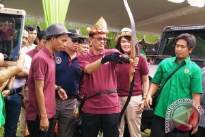 Perkembangan oahraga Panahan pesat di Palembang