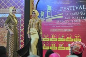 Fashion Hijab Songket Palembang