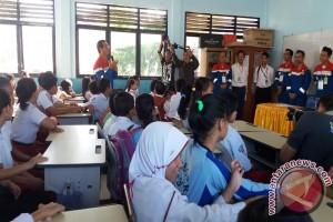 Pertamina tebar energi positif bagi pelajar SD