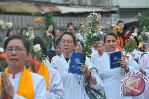 Perayaan Waisak Di Palembang
