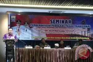Pemkot Palembang edukasi pengurus pasar tradisional
