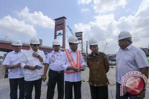 "Menhub: Pengerjaan ""LRT"" Palembang lampaui target"