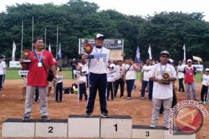 Sriwijaya Biru Palembang Juara Kejurnas Sofbol Putra Antarklub 2017