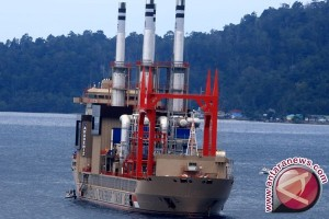 Kapal pemangkit Turki tiba di Medan