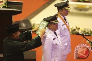 Dodi Reza dilantik jadi Bupati Musi Banyuasin