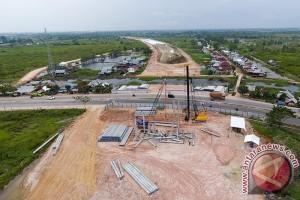 Pembangunan tol Palembang-TAA molor dari target