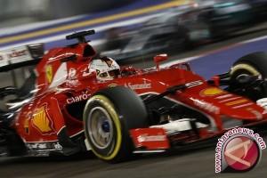 Vettel tempati posisi start terdepan di Singapura