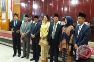 Lindawati dilantik jadi Anggota DPRD Sumsel