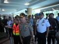 Pantau Arus Mudik Bandara SMB II