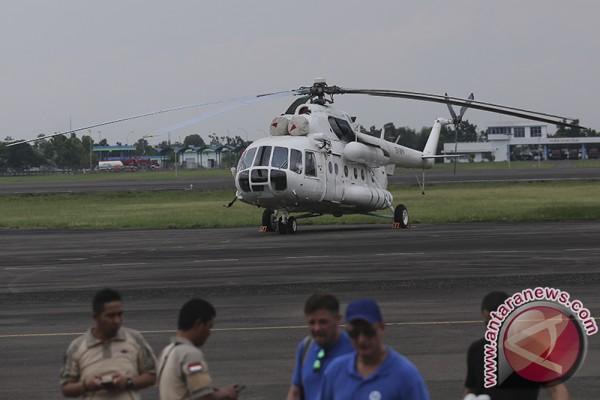 BPBD Sumsel turunkan tiga helikopter padamkan karhutla