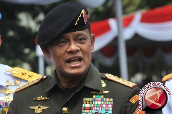 Makna tema HUT ke-72 bagi Panglima TNI