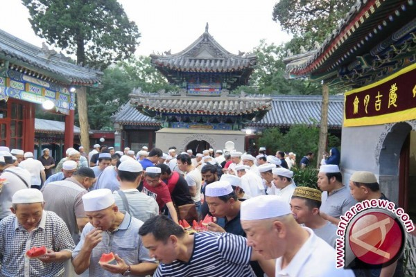 Mencicipi menu Iftar di daratan Tiongkok