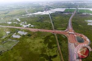 Proyek tol di Ogan Komering Ilir dikebut